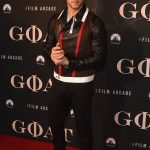Nick Jonas  In Dsquared2 At the Goat Movie New York Premiere