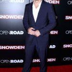 Scott Eastwood  In Salvatore Ferragamo At  Snowden New York Premiere
