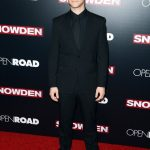 Joseph Gordon-Levitt  In Givenchy  At Snowden Premiere