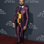 David Oyelowo  In  Dolce & Gabbana at 'Queen Of Katwe'  LA Premiere