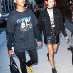 Jaden Smith  in Hood By Air at NYFW