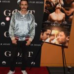 James Franco In Gucci   at 'Goat' New York  Premiere