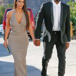 Kanye West  In  Saint Laurent at Wedding in CA