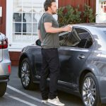 Ben Affleck in  Tom Ford  Sneakers Out in Santa Monica