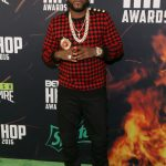 Young Jeezy  In Balmain and Keith And James Hat at BET Hip Hop Awards