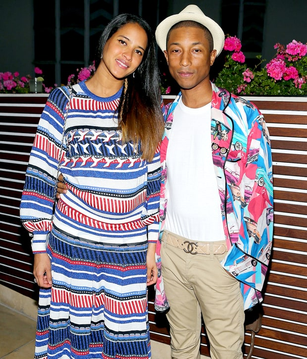 8b2b9de9cc3fb Pharrell In Chanel At At Chanel NO.5 Perfume Launch LA Party ...