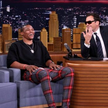 russell-westbrook-jimmy-fallon-show-fear-of-god-plaid-trousers-1024×683