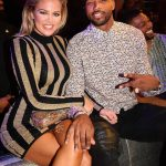 Tristan Thompson Wears Tom Ford Shirt and Amiri Jeans