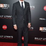 Garrett Hedlund In   Tom Ford  At Billy Lynn New York Film Festival Premiere
