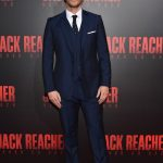 Patrick Heusinger​ In REISS suit At Jack Reacher New Orleans Fan  Screening