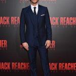 Patrick Heusinger In REISS suit At Jack Reacher New Orleans Fan  Screening