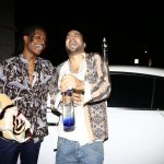 ASAP Rocky  In Loewe Shirt  hanging With French Montana