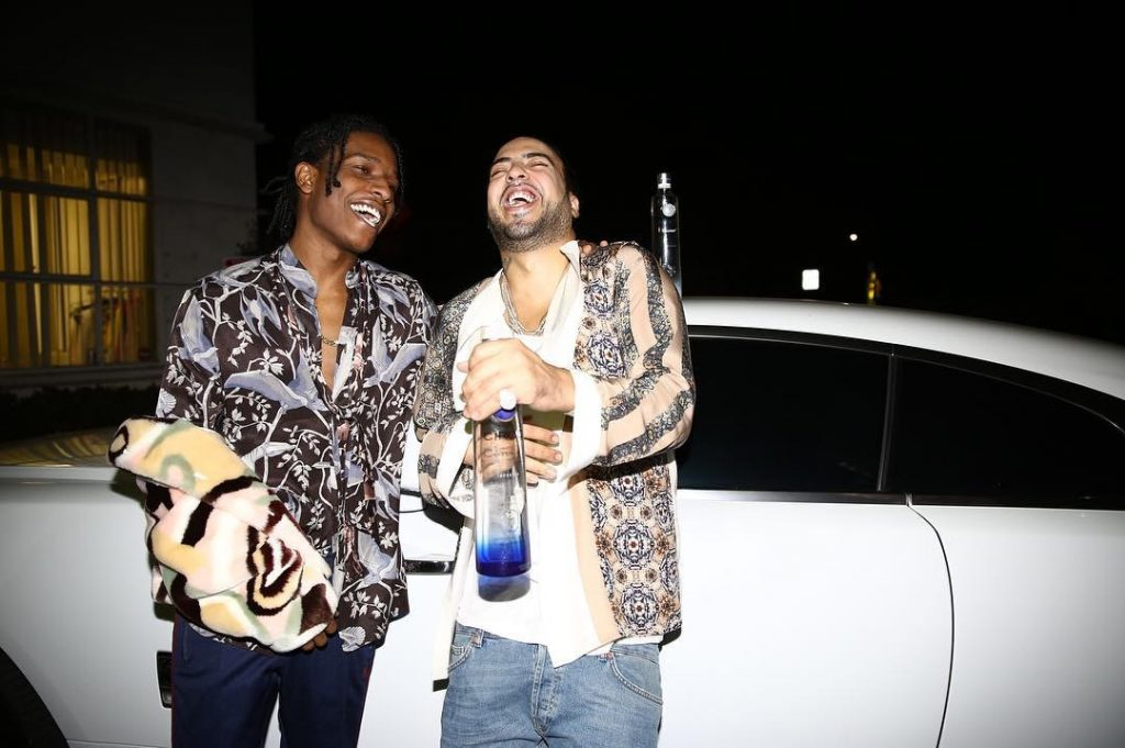 asap-rocky-in-loewe-shirt-hanging-with-french-montana
