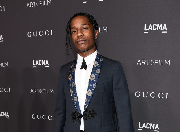 a52f3f4f5 Asap Rocky In Gucci AT 2016 LACMA ART + FILM GALA