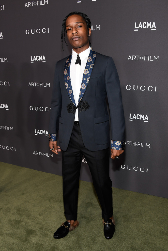 09440c6951c Asap Rocky In Gucci AT 2016 LACMA ART + FILM GALA - SIZZLE MAN
