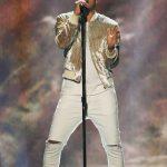 John Legend In  Saint Laurent Jacket At 2016 American Music Awards