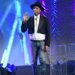 Pharrell  In Chanel At the Palm Springs Film Festival Film Awards Gala