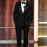 Brad Pitt  In Tom Ford  At the 2017 Golden Globe Awards