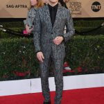 Rami Malek  In Dior Homme  At The  Screen Actors Guild Awards 2017