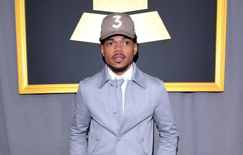 b43bc70571c2 Chance the Rapper In Thom Browne – Grammy Awards 2017