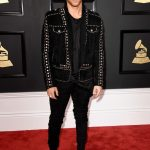 Nick Jonas In Balmain – 2017 Grammy Awards