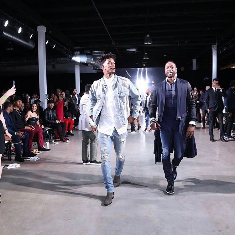 Dwyane-Wade-Jimmy-Butler-Daniel-Patrick-jacket-A-Night-On-The-RunWade