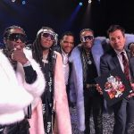 Migos' Quavo, Offset, and Takeoff performed  On Jimmy Fallon