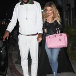 Tristian Thompson  In Gucci & Nike Air Force 1 Sneakers  – Date with Khloe Kardashian
