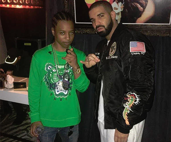 Drake In Schott Bomber Jacket In New York - SIZZLE MAN