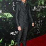 Tom Holland In Emporio Armani – Lost City Of Z LA Premiere