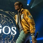 Migos' Quavo Performs  In a Fear of God Jacket