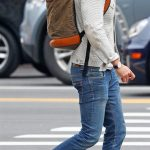 Reynold Reynolds In  Levis Jacket – Out In New York