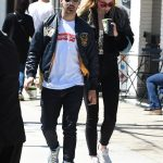 Joe Jonas In Ralph Lauren  , Supreme X Comme Des Garcons