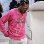 Future In Gucci  Sweatshirt  And Chanel Necklace