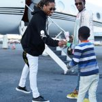 Future in  Mastermind  JapanHoodie  & Louis  Vuitton Snrakers