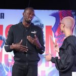 Usain Bolt And Puma  New  Sneaker   Launch