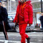 ASAP Rocky  Attends Raf Simons first show at Calvin Klein