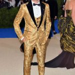 Brandon Thomas Lee  In Dolce and Gabbana – 2017 Met Gala