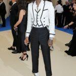 Wiz Khalifa In Thom Browne  – 2017 Met Gala