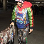 Jared Leto at LAX Airport