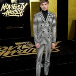 Miles Heizer  In Bally  – MTV Movie & TV Awards  2017