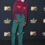 Ashton D. Sanders  In Calvin Klein – MTV Movie & TV Awards  2017