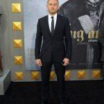 Charlie Hunnam  In Prada – King Arthur LA Premiere