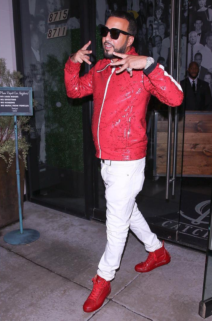 c1f585b72 French Montana In Burberry Jacket, Android Homme Sneakers – SIZZLE MAN