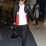 Orlando Bloom  In Givenchy  LAX Airport