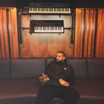 Drake In Nike & Louis Vuitton Bag – Studio