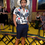 Donald Glover  In Gucci – Gucci Cruise 2018  Front Row