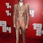 Tom Sturridge In Alexander McQueen – '1984' Broadway Opening Night Party