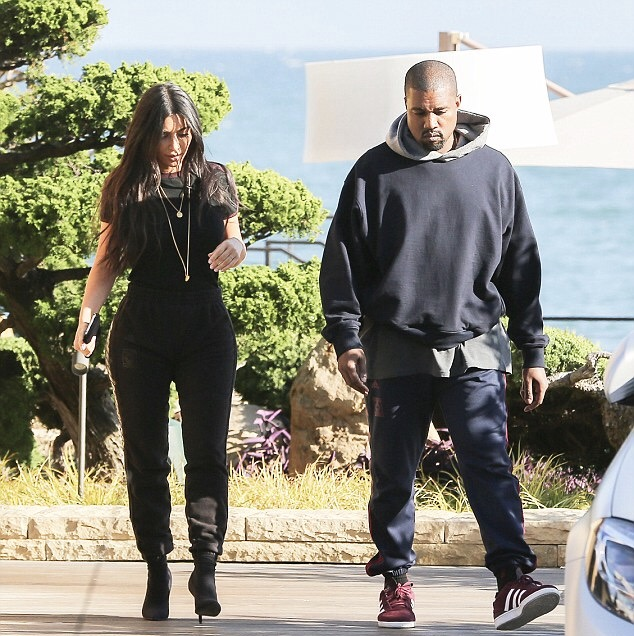 d11e48e95 Kanye West In Fear Of God Hoodie   Adidas Yeezy Calabasas Sweatpants