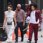 Kendall Jenner , Frank Ocean , and  Luka Sabbat Out In New York